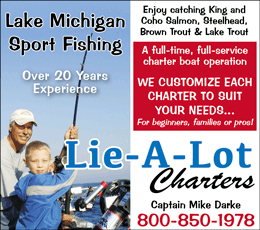 Lie A Lot Charters Ludington Fishing