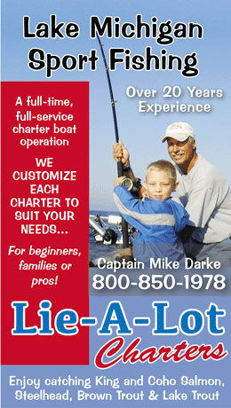 Lie A Lot Charter Fishing Ludington