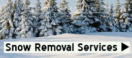 Snow removal snow plowing service