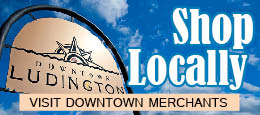 Shopping in Downtown Ludington