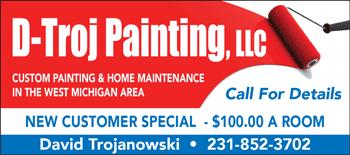 DTroj Painting Custom Home Painting