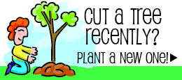 Plant a tree, trees & shrubs for sale