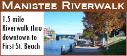 Downtown Manistee Riverwalk