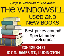 Ludington Windowsill New & Used Books