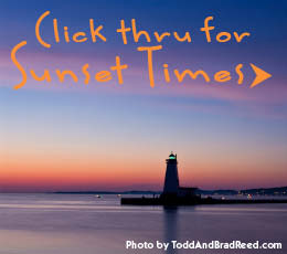 Ludington Sunsets & Sunset Times