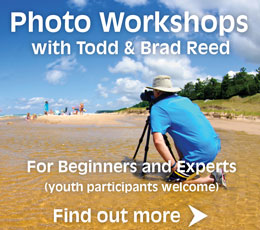 Todd and Brad Reed Photography Workshops Ludington