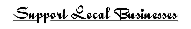 Shop Local Support Small Business