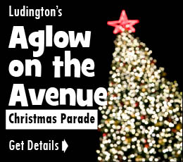 Ludington Christmas Parade with Santa