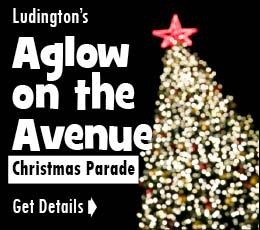Ludington Christmas Parade with Santa