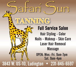 Safari Sun Tanning Salon Ludington