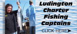 Ludington Charter Boat Fishing Captains Lake Michigan