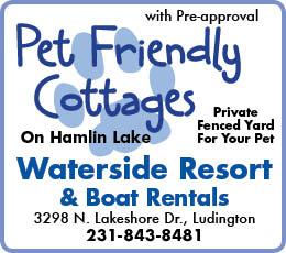 Waterside Resort & Boat Rentals Pet Friendly Cottages