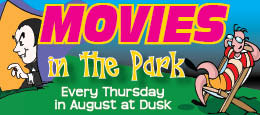 Movies in the Park Ludington Michigan