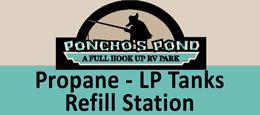 Poncho's Pond RV LP Gas