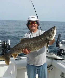 Visit ludington previous year ludington fishing reports for Ludington fishing report