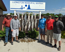 Lie-A-Lot Charters - Lie-A-Lot Ludington Charter Boat Fishing
